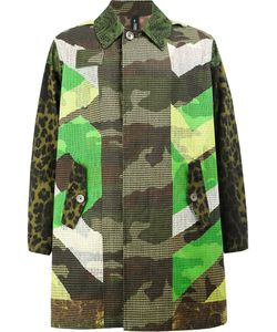 Herno | X Pierre-Louis Mascia Reversible Print Mix Coat Size