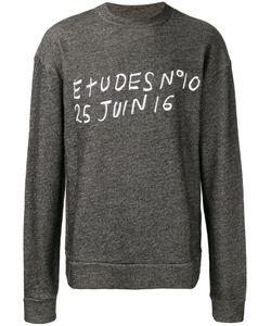 ÉTUDES | Embroidered Sweatshirt Size Medium