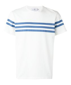 CUISSE DE GRENOUILLE | Triple Stripe T-Shirt Large Cotton
