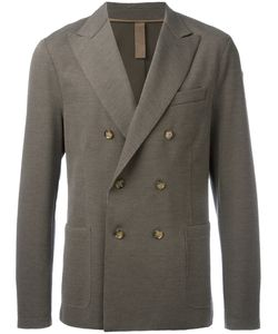 Eleventy   Double-Breasted Blazer Size 52 Cotton/Nylon/Polyester/Polybutylene Terephthalate Pbt