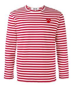 Comme des Gar ons Play | Comme Des Garçons Play Breton Stripe T-Shirt Size Small