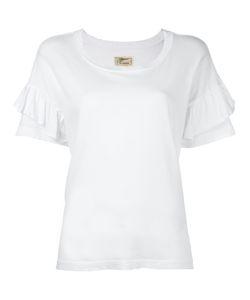 Current/Elliott | The Ruffle Roadie T-Shirt 2 Cotton