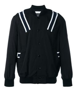 FACETASM | Ribbed Stripe Bomber Jacket 4 Cotton/Nylon