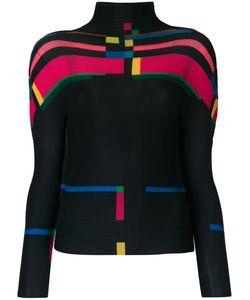 Issey Miyake Cauliflower | Geometric Print Sweater Women