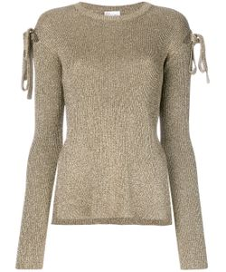 Red Valentino | Lace Sleeves Applique Top