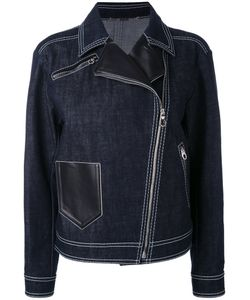 Versace | Джинсовая Байкерская Куртка