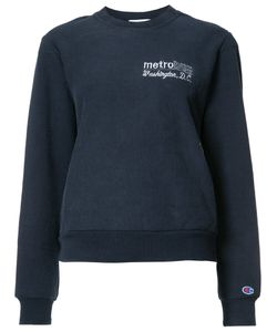 Re/Done | Metro Bus D.C. Sweatshirt Medium/Large Polyester/Cotton