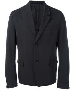 Diesel Black Gold | Drawstring Cuff Blazer 50 Polyester/Viscose/Spandex/Elastane