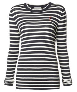Grey Jason Wu | Striped Sweatshirt Size Small