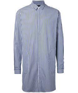 JUUN.J | Longline Striped Shirt 46 Cotton