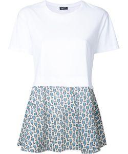 Jil Sander Navy | Panelled T-Shirt Size Large