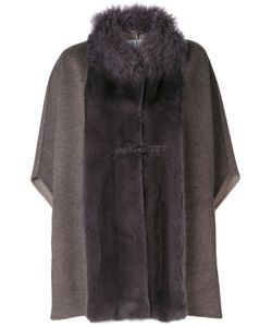 Manzoni 24 | Panelled Cape Coat