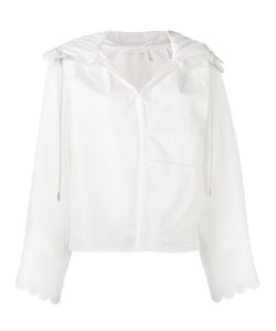 See By Chloe | See By Chloé Open-Neck Blouse 36 Cotton