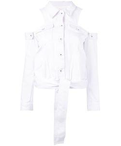Jonathan Simkhai   Джинсовая Куртка С Открытыми Плечами
