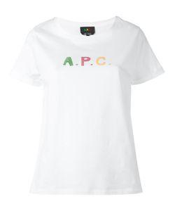 A.P.C. | A.P.C. Logo Print T-Shirt Size Xs