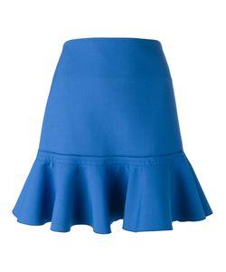 Victoria, Victoria Beckham | Victoria Victoria Beckham Flared Hem Skirt Size 8 Nylon/Polyester/Spandex/Elastane/Virgin