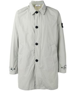 Stone Island | Single-Breasted Coat Xl Polyester/Polyamide
