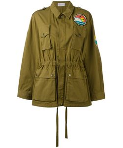 Red Valentino | Beach Logo Military Jacket