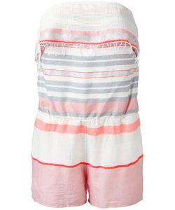 Lemlem | Stripe Bandeau Playsuit Size Xs