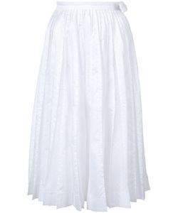 JONATHAN COHEN   Frayed Pleat Skirt