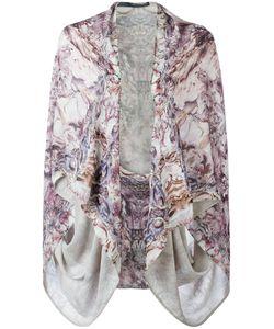 Alexander McQueen | Printed Kimono Silk