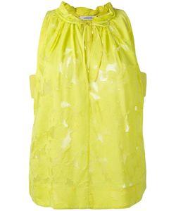 Dorothee Schumacher | Lace Sheer Blouse 2 Silk/Cotton/Viscose