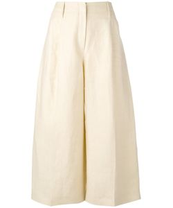 Joseph | Wide Leg Cropped Trousers