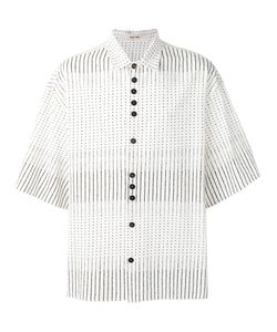 Damir Doma | Stripe Dotted Shirt Size Small