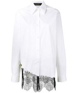 Filles A Papa | Foxy Lace Asymmetric Shirt