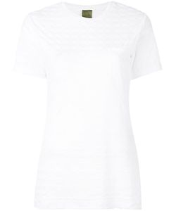 MR & MRS Italy | Scallop Sleeve T-Shirt