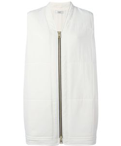Lanvin | Sleeveless Elongated Bomber Coat 1 Silk/Polyester