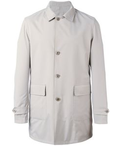 Loro Piana | Reversible Midi Coat Xl Polyamide/Wool/Silk/Polyurethane