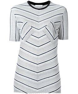 J.W. Anderson | J.W.Anderson Striped T-Shirt Small Viscose
