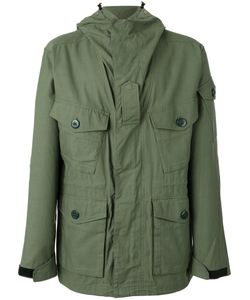 Rag & Bone | Hooded Coat Medium Cotton/Nylon/Polyester