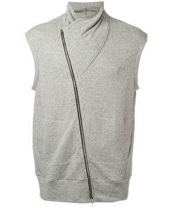 Lost & Found Rooms | Sleeveless Asymmetric Zip Sweatshirt