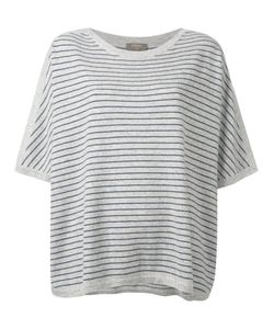 N.PEAL | Oversized Stripe T-Shirt Size Medium