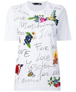 Love Moschino | Футболка С Вышивкой
