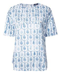 Jil Sander Navy | Print T-Shirt Size 36