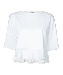 TARO HORIUCHI | Pleated Hem Blouse Cotton