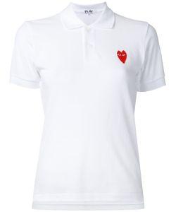 Comme des Gar ons Play | Comme Des Garçons Play Heart Logo Polo Shirt Size Small