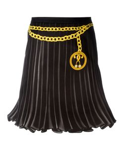 Moschino | Trompe-Loeil Pleated Skirt 40 Cotton/Other Fibers