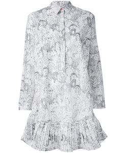 PS PAUL SMITH | Ps By Paul Smith Cactus Sketch Print Shirt Dress