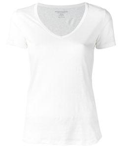 MAJESTIC FILATURES   V-Neck T-Shirt Size Ii