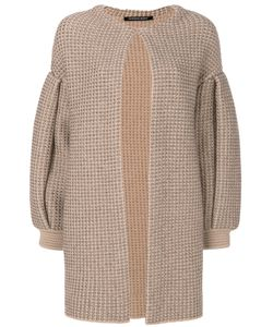 Antonino Valenti | Knitted Draped Coat Women