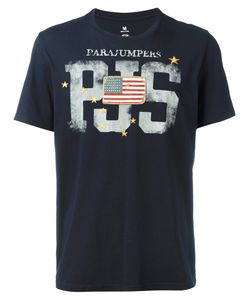 Parajumpers | Flag Patch T-Shirt Small Cotton