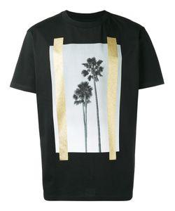 PALM ANGELS | Palm Trees Print T-Shirt Medium Cotton