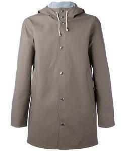 STUTTERHEIM | Drawstring Hood Raincoat Xs Pvc
