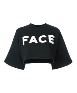 FACETASM   Short-Sleeve Logo Sweatshirt 2 Cotton