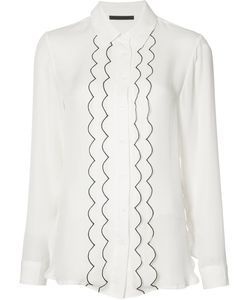 Jenni Kayne | Piped Frill Shirt Size Medium