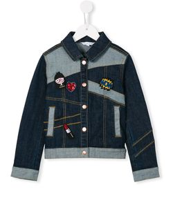 Little Marc Jacobs | Patch Denim Jacket 6 Yrs